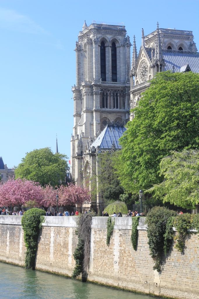 Notre Dame seineltäpäin